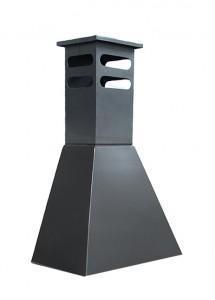 Campana piramidal de hierro