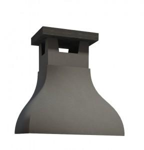 campana de obra gris ceniza