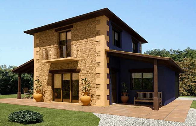 Decoracion en piedra - Piedra para exteriores casas ...
